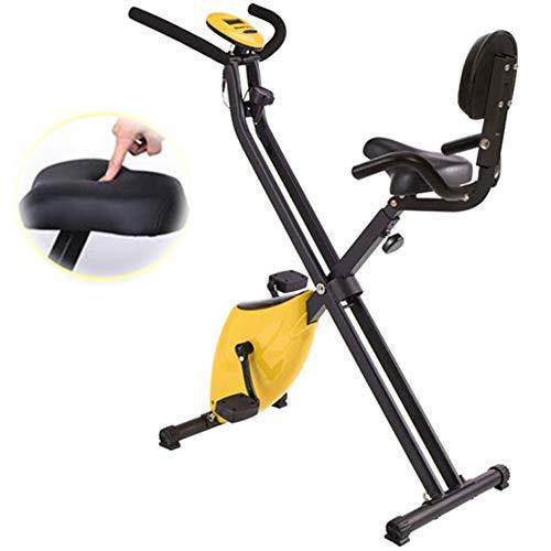 LCYZ Plegable Bicicleta Estática,Mini Bicicleta Spinning pa