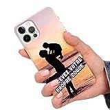 CuteCases Clear Housse pour Samsung Galaxy J6 Plus 2018 Coque de Téléphone Personnalisée avec...