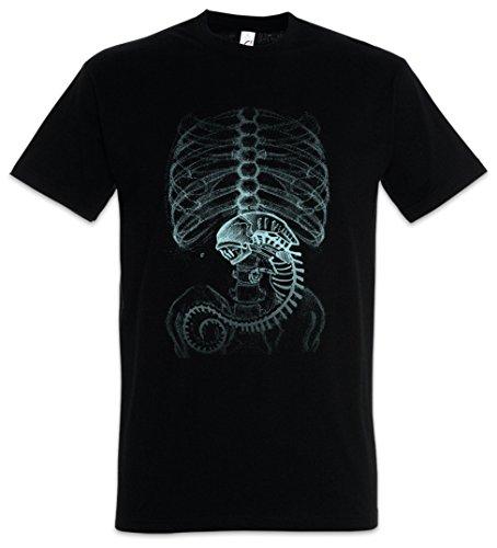 Urban Backwoods Xenomorph Alien Camiseta...