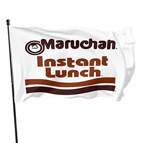 Maruchan Instant Lunch Ramen Noodles Fahnen/Flagge/Gartenfahne/Dekorativer-Verf¨¹gbar In Allen Jahreszeiten?90 X 150 cm?.