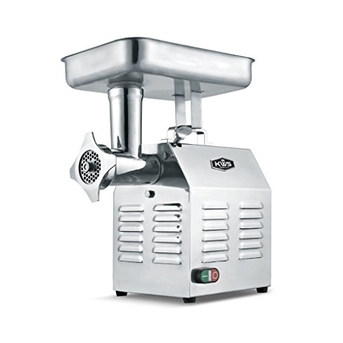 KWS TC-22 Commercial 1200W 1.5HP Electric Meat Grinder Stainless...