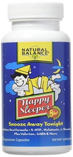 Happy Sleeper 8-Hour Formula Natural Balance 60 VCaps