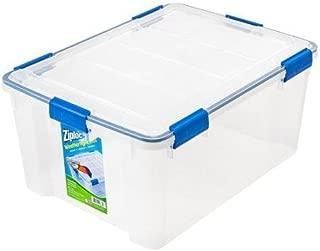 4-Piece Large Deep Weathertight Storage Box Set