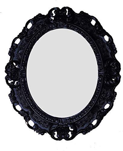 Lnxp Repro - Espejo de pared ovalado 45 x 38 cm