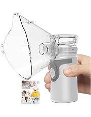 Portable Nebulizer Inhaler Machine Mini Handheld Steam Humidifier Vaporizer Cool Mist For Adults & Kids Gray,USB/Battery,Grey JoyBuySaudi
