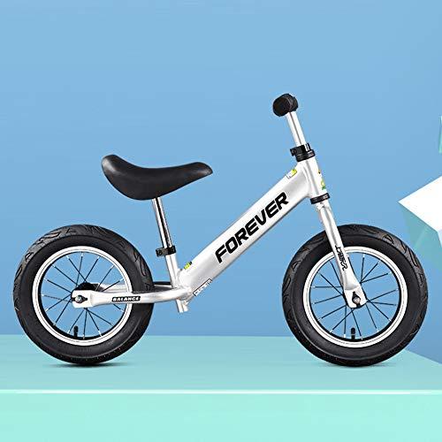 RR-Bike Bicicleta De Equilibrio para Niños con Reposapiés para Niños Y Niñas De 1-5 Años, Bicicleta De Empuje para Niños Pequeños con Soporte De Aleación De Aluminio, Los...