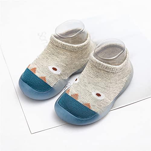 Children Anti-Slip Shoes Newborn Baby Girl Cotton Non-Slip Floor Socks Baby Boy Rubber Sole Cartoon Indoor Socks Infant Shoes Comfortable (Color : Red Panda, Size : 2-3years)