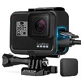 Sametop - Carcasa compatible con cámaras GoPro Hero 7 Black, 7 Silver, 7 White, Hero 6 Black, Hero 5 Black, Hero (2018)