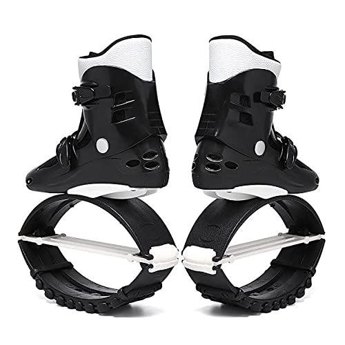 YLJXXY Adulto Zapatos de Rebote Jump Bounce Shoes Antigravedad Salto Botas para Fitness y Entretenimiento Rango de Carga de Peso 50-110 kg Fitness