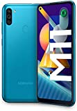 """SAMSUNG Galaxy M11   Smartphone Dual SIM, Pantalla de 6,4"""""""", Cámara 13 MP, 3 GB RAM, 32 GB ROM Ampliables, Batería 5.000 mAh, Android, Color Azul metálico"""