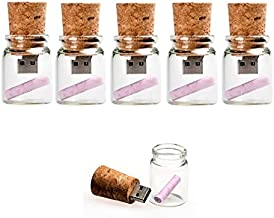 ANLOTER 10Pcs 16GB USB Flash Drive Memory Stick Thumb Drives 5 Mixed Colors: Black Blue Green RoseRed Violet 16GB