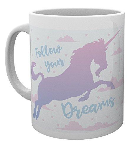 GB Eye Einhörner, Follow Your Dream, Tasse, verschiedene