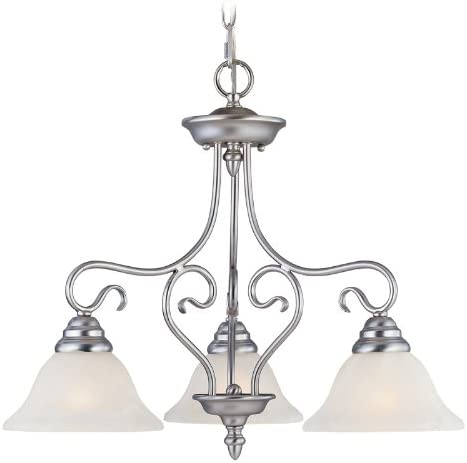 Livex Lighting 6133-91 Coronado All items in the store Direct sale of manufacturer 3 Light Brushed Hanging Nickel L