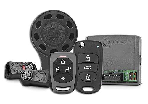 Alarme Taramps TW20 CH RF G4 01 Controle Presença Chave Canivete TR4 Sirene Sem Fio Alarme Automotivo, Pequeno