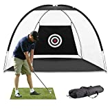 Best Golf Practice Nets - MEARTEVE Outdoor Golf Practice Net,Large Open Size 10 Review