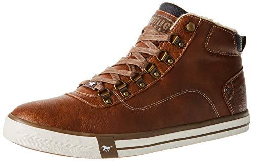 MUSTANG Herren 4103-601 Sneaker, 307 Cognac, 43 EU