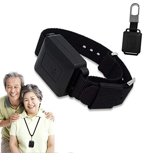 LYGID Usable GPS Localizador Pulsera De Posicionamiento para Niños Mayores USB Recargable Vista De La Calle En Tiempo Real Dispositivo De Seguimiento Anti-Perdida