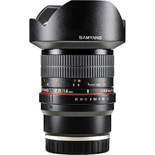 Samyang F1110606101 F2. - Objectivo para Sony-E, (8 14 mm IF ED UMC), Negro