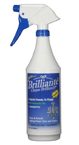 BRILLIANTÉ Crystal Chandelier Cleaner Manual Sprayer 32oz...