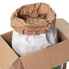 Jumbograss® klein dierlijk strooisel gemaakt van Miscanthus/olifantengrassnippers, extreem absorberend hakmateriaal, goedkoop stro en zaagsel/houtkrullen alternatief voor schone kooi (70-liter papieren zak)*