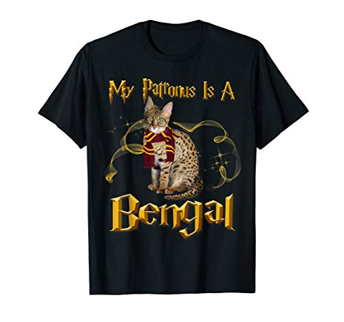 My Patronus Is A Bengal Cat Lover T-Shirt