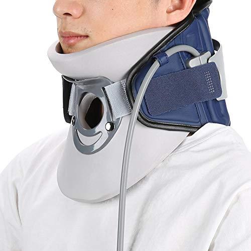 Cervical Vertebra Brace, Cervical Traction Devices Inflatable Neck Pain Relief Support for Neck Pain Spondylosis Correct Posture Cervical Collar(1#)