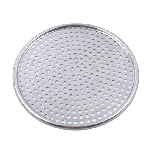 NKLC 8/9/10/12 inch Bakeware Pizza Pan, Pizza Crisper Pan, Pizza Baking Tray with Holes, Non-Stick Bakeware, Carbon Steel Pizza Tray, Cooking Tool(10inch)