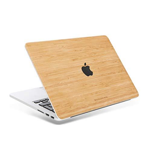Woodcessories - Skin kompatibel mit MacBook 13 Pro Touchbar/Retina aus Holz - EcoSkin (Bambus)