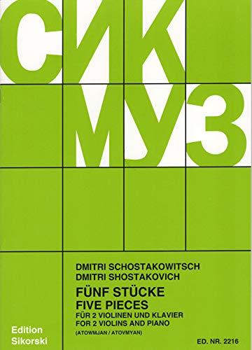 5 Stuecke. Violine, Klavier
