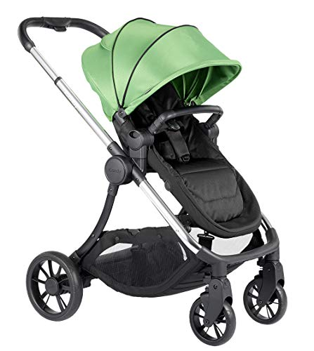 Icandy Lime Chrome Pushchair and Carrycot Bundle Ic2028, Lime