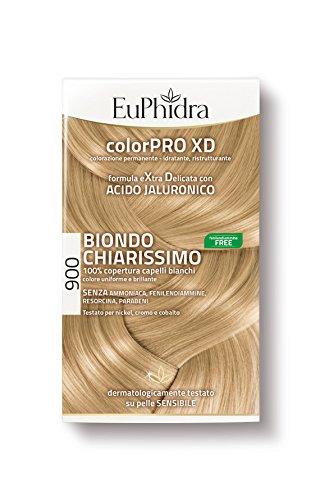 Euphidra Tinta Color Pro XD 900 Colorazione Permanente senza ammoniaca BIONDO CHIARISSIMO