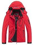 Women's Waterproof Warm Winter Snow Coat Hooded Raincoat Ski Snowboarding Jacket