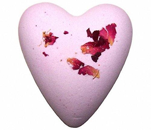 Megafizz Bath Heart Rose by Ancient Wisdom
