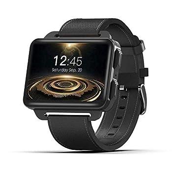 DM99 Smart Watch Phone 2.2 inch Android MTK6580 Quad Core 1GB RAM 16GB ROM 1200mAh Support Camera GPS WiFi Nano SIM MP4 WCDMA 3G Smartwatch  Black