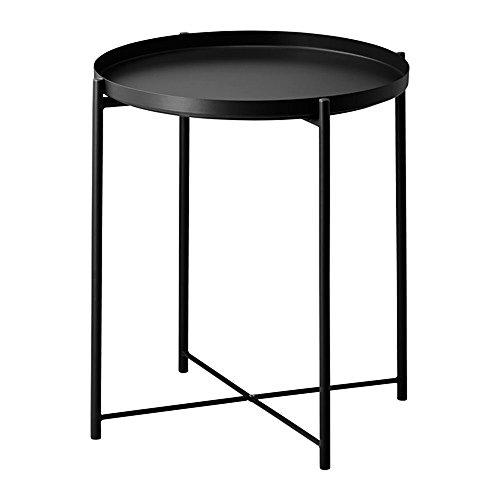 IKEA/イケア GLADOM:トレイテーブル ブラック (004.119.97)
