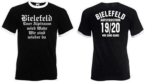 Bielefeld Herren Aufstiegstour 2020 Ultras Retro-Shirt Aufsteiger