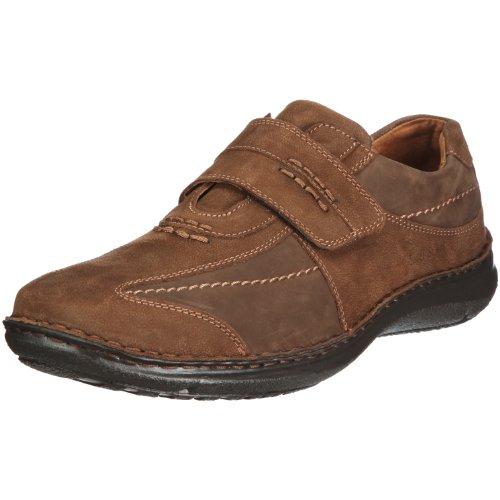 Josef Seibel Alec Herren Low-Top Sneaker Comfort Schuhe aus Nappaleder -Braun (340 brasil),39 EU
