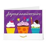 Chèques-cadeaux Amazon.fr A imprimer