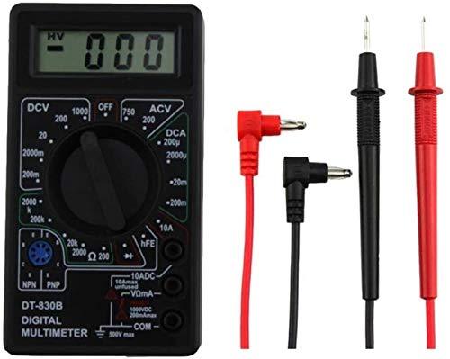 DT-830B Multimeter Digital Multi Tester Voltmeter Amperemeter Ohmmeter DC AC Spannung Strom Widerstand für Zuhause Elektriker