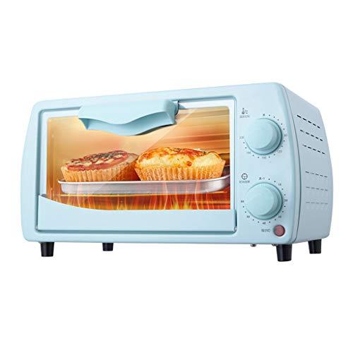 12L Minibackofen mit 800W Einstellbare Temperatur 0-230 ° C und 60-Minuten-Timing Dreischichtige Backposition Home Backen Multifunktionaler Automatischer Elektroofen Zum Backen Von Kuchen und Pizza