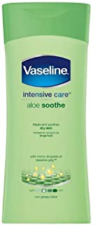 Vaselina Intensive Care Aloe Loción 400ml funda de 6