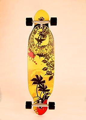 38 INCH Longboard Board NEU Komplettboard Skateboard ABEC7 97cm