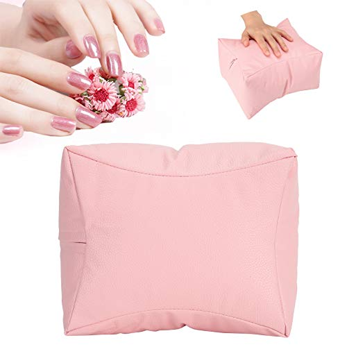 Hand Cushion Pillow, Breathable And Waterproof Nail Care Pad, Beauty Salon Salon Shop Manicure Store for Home(Pink)