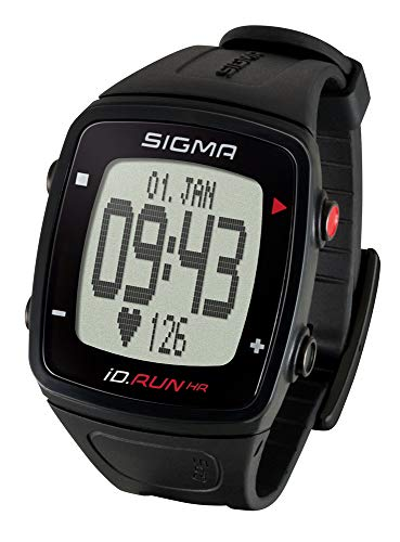 SIGMA SPORT Unisex Id.run Gps Laufuhr, BLACK, size name copy 2 3 EU