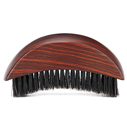 Bartbürste Tragbare Naturborsten Bartpflege Naturholz Kurzgriff Rasieren Weiches Haar Reinigungsbürste Schnurrbart Reinigung Styling Pinsel Werkzeug Home Travel Verwendung für Männer