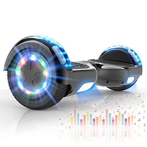 COLORWAY Hover Scooter Board Hoverboard 6.5 Zoll - Self Balance Board Elektro Scooter- E-Board mit LED & Bluetooth