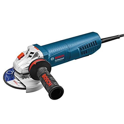 Bosch Professional 0601795202 Amoladora, 1500 W, 240 V, Negro, Azul, Blanco