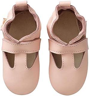 Tichoups Chaussures b/éb/é cuir souple Tibilly camel 16//17