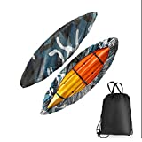 RONGT Kayak Canoe Cover Waterproof Canoe Storage Dust Sunblock Cover Offers UV Protection for Fishing Boat 7 Sizesd
