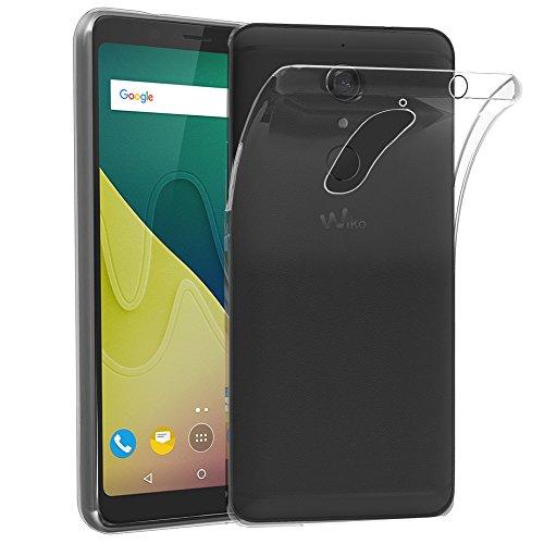 ebestStar - kompatibel mit Wiko View XL Hülle Handyhülle [Ultra Dünn], Premium Durchsichtige Klar TPU Schutzhülle, Soft Flex Silikon, Transparent [Phone: 158.1 x 76.5 x 8.2mm, 5.99'']